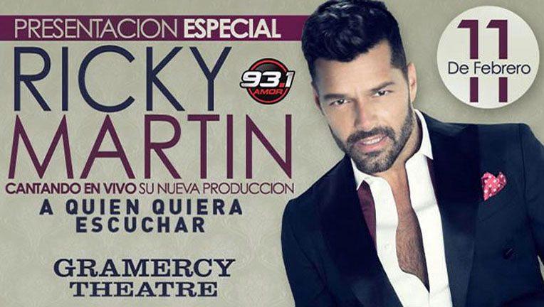 فتو کلیپ آماده ادیوس Ricky Martin