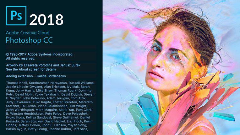دانلود رایگان فتوشاپ Adobe Photoshop CC 2018