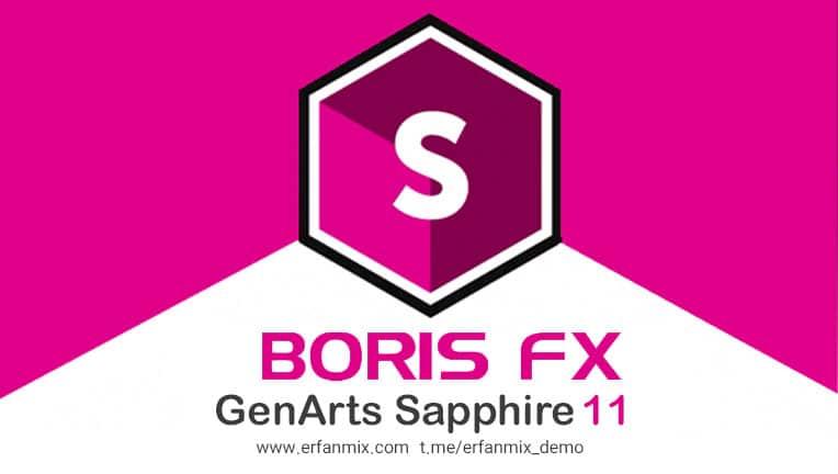 پلاگین ادیوس 8/9 Boris FX GenArts Sapphire