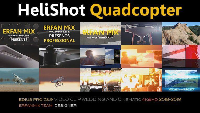 کلیپ هلیشات EM310-Helishot Quadcopter