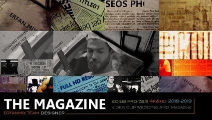 پروژه آماده ادیوس روزنامه