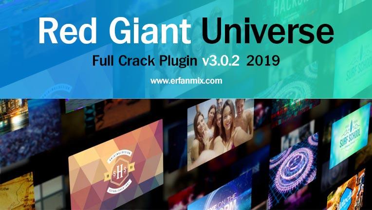 پلاگین حرفه ای کلیپ سازی Red Giant Universe