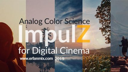پریست رنگی ImpulZ LUTs Digital Cinema 1.1