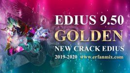 تصویر کرک جدید ادیوس گلدن Edius Pro 9.50