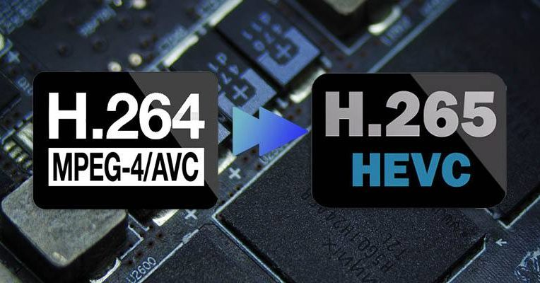 تفاوت فرمت فشرده سازی H.264 / H.265