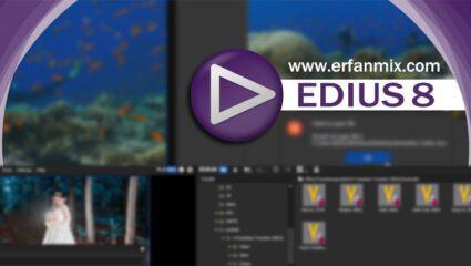 رفع فراخوانی فایل QuickTime در EDIUS 8