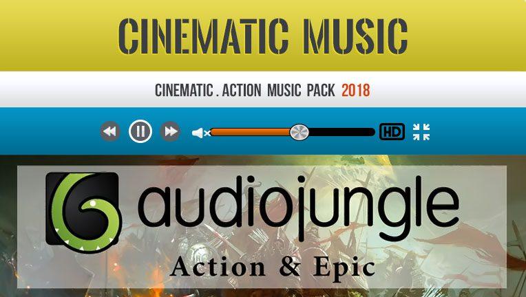 پک موزیک خاص اکشن Audio Jungle