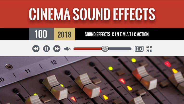 پک افکت صوتی سینمایی CinemaSuond