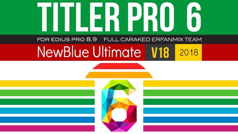 پلاگین تایتل پرو NewBlue TitlerPro 6-V18