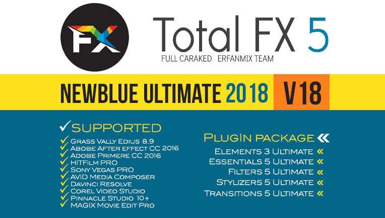 پلاگین نیوبلو NewBlue TotalFX 5-V18