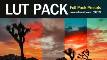 مجموعه پریست رنگی LUT Preset Pack 2019