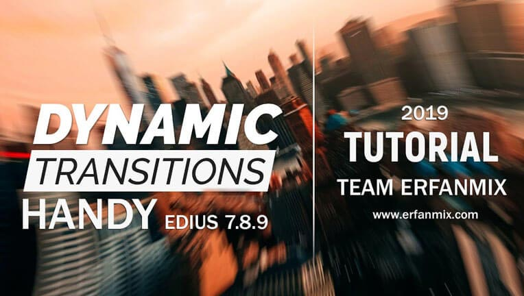 ترانزیشن Dynamic Transitions Handy Edius