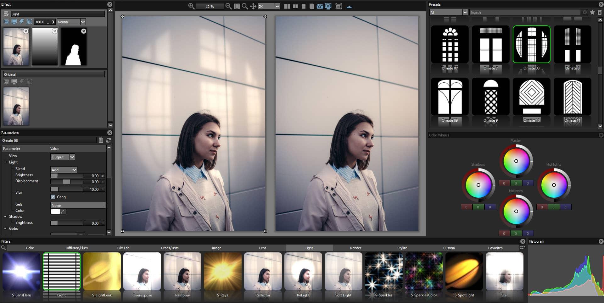 نرم افزار بوریس اپتیک Adobe Photoshop و Lightroom