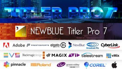 NewBlue Titler Pro 7