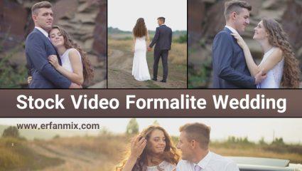 مجموعه استوک عروسی (فیلم خام عروس و داماد) Stock Video Formalite