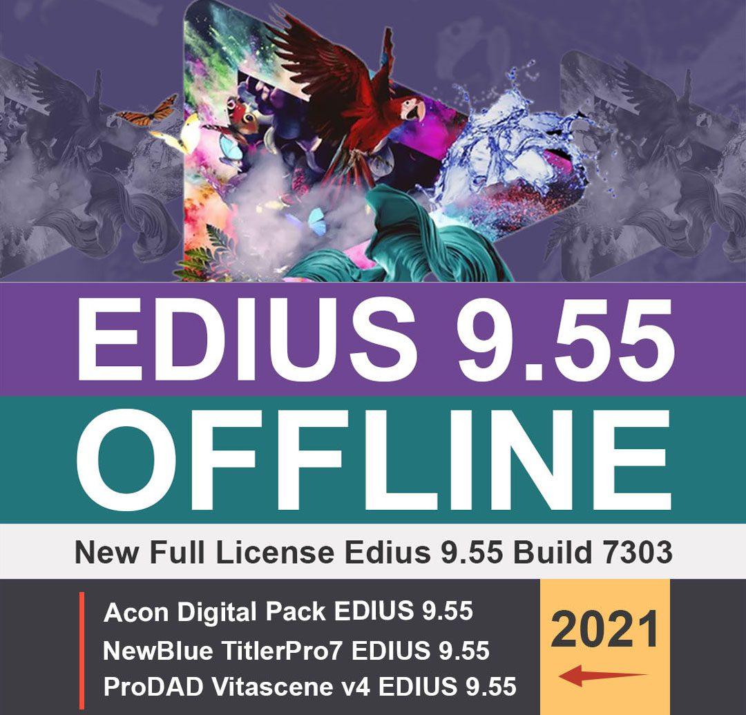 لایسنس ادیوس 9.55 EDIUS Workgroup