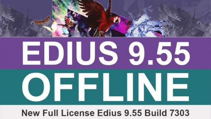 لایسنس License آفلاین نرم افزار ادیوس EDIUS Workgroup 9.55
