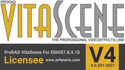 پروداد ویتاسنت VitaScene 4 EDIUS 7.8.9.10