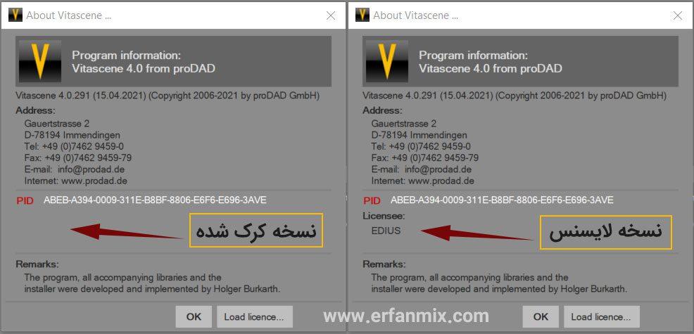 پلاگین پروداد ویتاسنت ProDAD VitaScene V4 Plugin For Edius 7.8.9.10