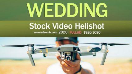 مجموعه استوک عروسی Stock Video Helishot